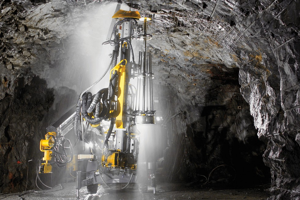 Small Mine Development : Mine development company discovers boltec s speed and