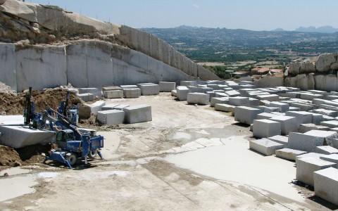 Comita quarry in Sardinia