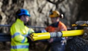 Top quality rock drilling tools from Atlas Copco Secoroc helped contractor Oden to get back on schedule at Stockholm's City Line project.