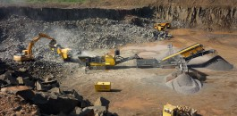 The Powercrusher PC1055 J at work.