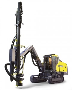 Big money saver: The SmartROC T40 drill rig keeps fuel costs to an absolute minimum.