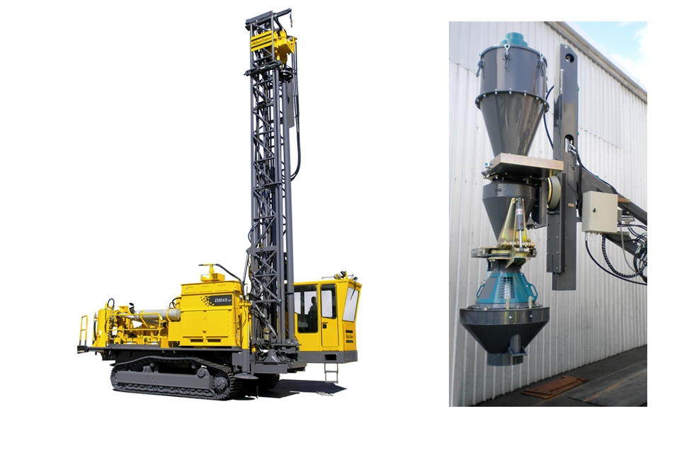 Bolt-on unit: The new RC kit enables both DM45 and DML drill rigs to ... Underground Mining Tools