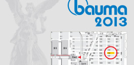 Location of Atlas Copco at Bauma 2013.