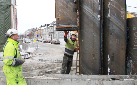 A Symmetrix casing system for a road tunnel project in Norway.