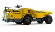 The new Atlas Copco Electric Minetruck EMT50