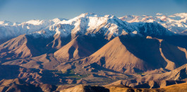 The Andes in Chile.