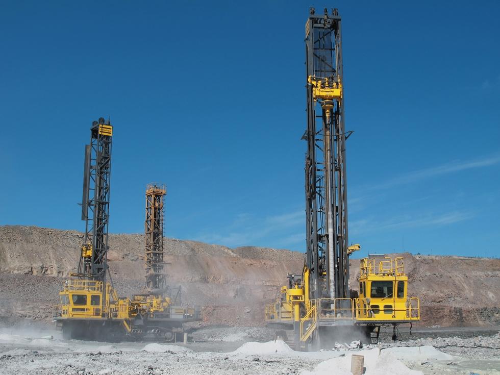 Atlas Copco S Dm M3 Drills For Iron Ore In Russia