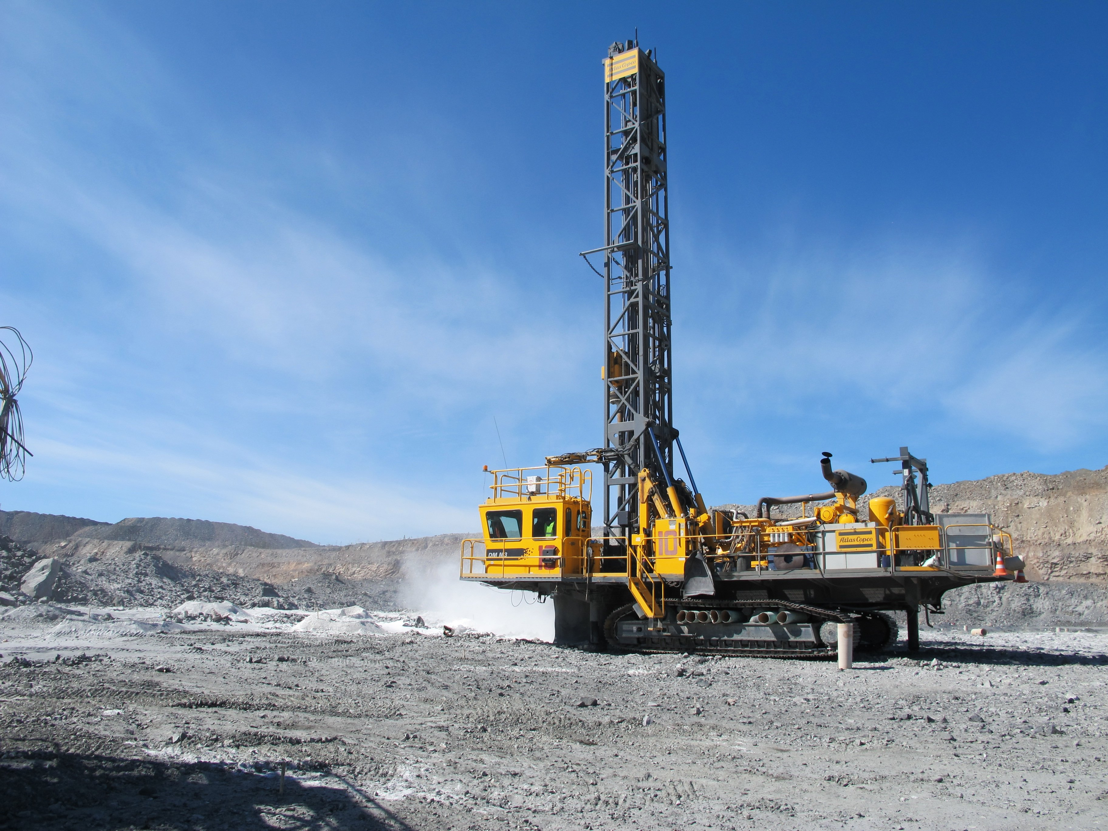 Water Patterns Atlas Copco S Dm M3 Drills For Iron Ore In Russia