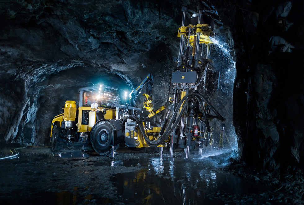Atlas copco underground mining methods and applications