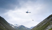 Excavation of a new hydropower plant in the mountains of Norway is going full steam ahead