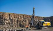 Surface drill rig Atlas Copco SmartROC T45 in Quarry