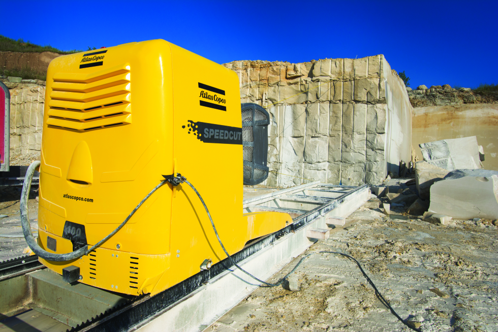 A dimension stone specialist in the USA has increased its productivity by up to 40 percent when selecting the Atlas Copco Speedcut.