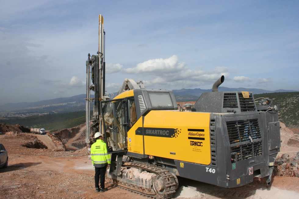 The introduction of Atlas Copco's SmartROC T40 drill rig is helping Turkish contractors to slash their fuel bills and improve their productivity.