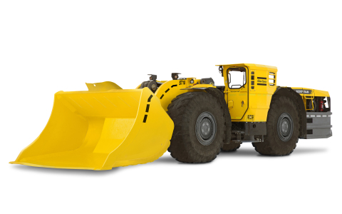 The Scooptram ST18 is a high performance, 18 metric tonne capacity underground loader for large operations, including development work and production mining.