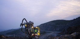Now available worldwide: The new PowerROC T50 surface drill rig.
