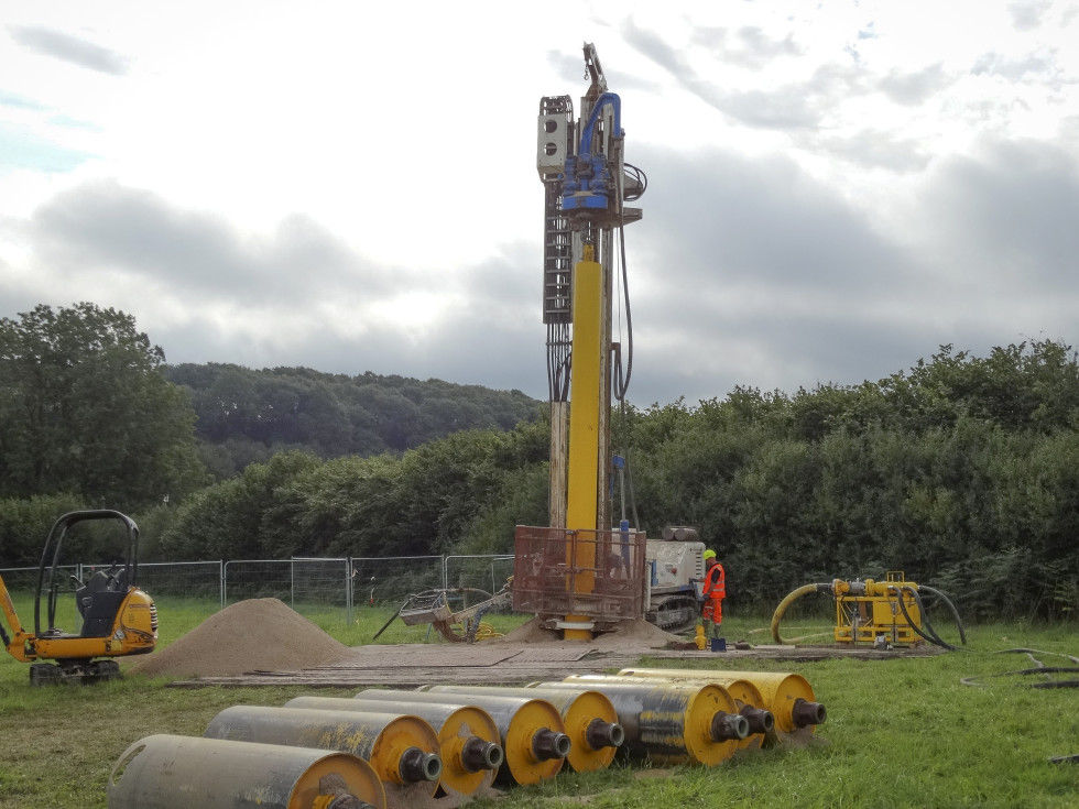 A new water well for the soft drinks industry: Successfully completed with Atlas Copco's QL 120 hammer.